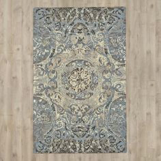 $640 expensive but pretty? Found it at Wayfair - Palmer Hand-Tufted Twilight Area Rug