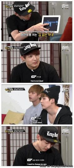 This proves that Jeon Jungkook is still in fact a kid.