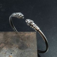 Bracelets For Men, Bangle Bracelets, Bangles, Bracelet Men, Greek Jewelry, Unique Jewelry, Greek Helmet, Sterling Silver Cuff, Photo Jewelry