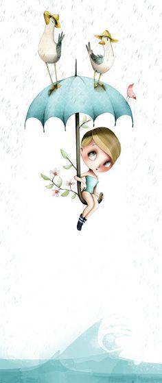 la fiancée au beurre salé: illustration©emmanuellecolin