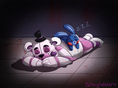In honor of yours truly finally beating Night4. Have an Ennard and foreign margerin- i mean exotic butters Sisloc belongs to Scott Cawthon sid...