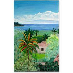 Trademark Fine Art Canvas Art Canvas Art by Costa Rican Beac, Size: 16 x 24, Multicolor