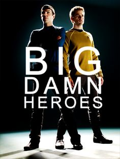 Anything where Chris Pine and Zachary Quinto have to work together = awesome. :)