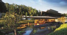 Yunfeng Spa Resort, Baoshan, 2016 - Kengo Kuma and associates