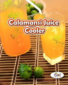 Calamansi Juice Cooler Recipe is known to be rich in vitamin C which helps strengthen our immune system and prevent your body from getting sick. Filipino Desserts, Filipino Recipes, Pinoy Recipe, Filipino Food, Juice Drinks, Healthy Drinks, Calamansi Juice, Pinoy Food, Pineapple Juice