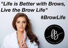 Live the best brow life. Contact us for eyebrow microblading in Florida.#BrowLife #BrowsOnFleek