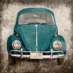 Deep Teal Bug or ANY COLOR  Vintage Style Original by leedledee, $28.00