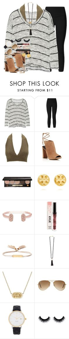 """""""maybe i was naive, got lost in your eyes, never really had a chance."""" by ellaswiftie13 ❤ liked on Polyvore featuring Splendid, lululemon, Charlotte Russe, Kenneth Cole, Bobbi Brown Cosmetics, Tory Burch, Kendra Scott, Chloé, Rosantica and Ray-Ban"""