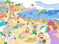(2016-09) Hvad gør de på stranden?