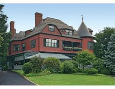 Designed by prominent architects Shepley, Rutan and Coolidge in 1890 #Brookline