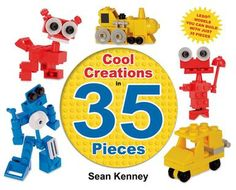 Book review: 'Cool Creations' shares what to do with just 35 Legos   Deseret News