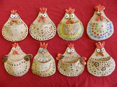 Clay Projects For Kids, Clay Crafts For Kids, Kids Clay, Clay Birds, Ceramic Birds, Ceramic Clay, Beginner Pottery, Pottery Ideas For Beginners, Cerámica Ideas