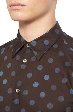 PS Paul Smith Extra Trim Fit Polka Dot Shirt