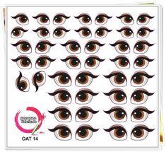 3 D, Printables, Biscuit, Craft Ideas, Eye Stickers, Handmade Crafts, Feltro, Doll Eyes, Mason Jars