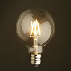 E27 LED Small Edison Globe Filament Light Bulb by LightwithShade