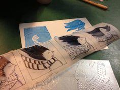 Odyssee: Spielkarten Workshop in Stralsund: Drucken mit Tetrapack