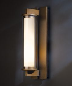 """Hubbardton Forge """"Fuse"""" Sconce 17"""" long 4.6"""" wide. #306453-05-ZM379"""
