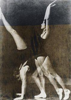 Wanda Wulz - Exercices de gymnastique, 1932. … via RMN