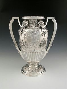 Tiffany & Co. Silver Vase late 19th century