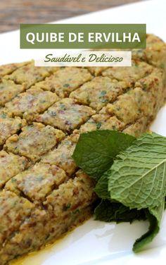 Aprenda a fazer esse quibe vegano, uma receita deliciosa e fácil de fazer. Um quibe cru fácil e delicioso. Faça para servir com pães, carnes e muito mais. Essa é nossa receita de kibe vegetariano, saudável e delicioso. No Salt Recipes, Veggie Recipes, Cooking Recipes, Salty Foods, Vegan Lunches, Arabic Food, Plant Based Diet, Eating Habits, No Cook Meals