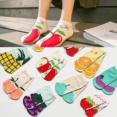 Cute Fruit Ankle Socks     #socks
