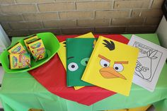 Angry Birds Birthday Party Activities
