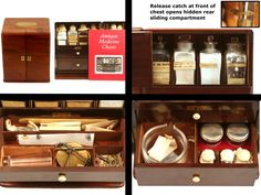 Apothecary Chest - Young Collection (1860)