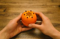 How to Make Orange Rind Votives - DIY & Crafts - Handimania