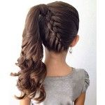 Great Stylish Braided Ponytail Hairstyles 2016 for Little Girls