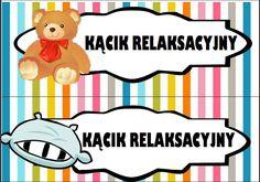 Kąciki w przedszkolu - etykiety do wydruku | Pani Monia Very Hungry Caterpillar, Montessori, Winnie The Pooh, Playroom, Diy And Crafts, Kindergarten, Preschool, Clip Art, Education