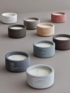 Bougie parfumée pour l'hiver : notre shopping | Maison Créative Candle Packaging, Candle Labels, Candle Jars, Craft Packaging, Candle Holders, Handmade Candles, Diy Candles, Beeswax Candles, Diptyque Bougie