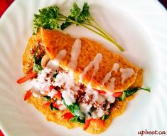 """Lentil Crepe   Upbeet   Entry into the """"Main Dish"""" category"""