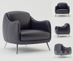 Natuzzi Platea 2661 Chair