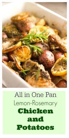 This recipe has been updated with new pics!  You can see that here:  Easy Roasted Lemon Chicken with Rosemary and Potatoes.  The same great recipe,  just prettier 🙂  #Paleo and #Whole30 Compliant This is one of those recipes that can be made 100 different ways and they would all be good!  If you never learned to...Read More »