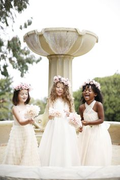 Flower Girl Fashion from Kirstie Kelly + Belathee Photography - Style Me Pretty Flower Girls, Flower Girl Gown, Wedding Bride, Dream Wedding, Wedding Attire, Fall Wedding, Rustic Wedding, Wedding Flowers, Princess Hairstyles