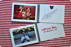 Disney Autograph book and other ideas