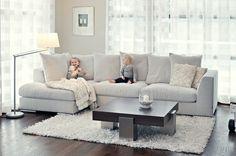 Mukava sohva voi olla myös tyylikäs