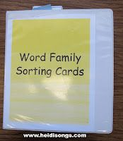 CVC word binder - this site is a must have/favorite for any teacher. Heidi is on the spot!