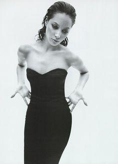 Vogue Italia May 1995 - Christy Turlington by Mario Sorrenti