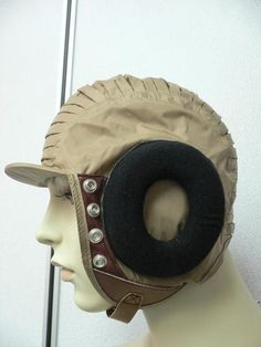 costumebase - Endor Pilot Aviator Cap Star Wars accessories, $29.50 (http://www.thecostumebase.com/endor-pilot-aviator-cap-star-wars-accessories/)