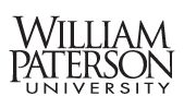 William Paterson University of New Jersey is located in Wayne (WPUNJ)  Plan A: Open   Plan B: Open