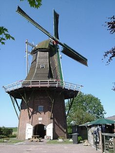 Flour mill De Onderneming, Vierhuizen, the Netherlands
