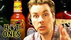 Dax Shepard Does Mental Math While Eating Spicy Wings | Hot Ones