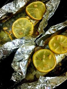 Spicy Mackerel With Lemon Recipe ~ Food Network Recipes Lemon Recipes Easy, Beer Recipes, Avocado Recipes, Spicy Recipes, Fish Recipes, Lunch Recipes, Seafood Recipes, Mackerel Recipes, Fish Dishes