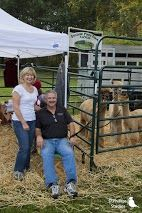 The owners of Shadow Pines Farm and their alpacas! #animals