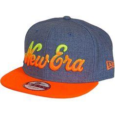 New Era 9FIFTY Cap Fade Out blau/orange