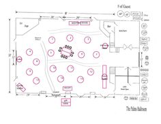 Multiple reception floor plan layout ideas and the for Banquet floor plan template