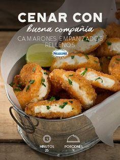 Camarones rellenos   https://lomejordelaweb.es/