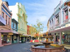 The Quadrant Mall - Launceston - my home town! Trading Places, Oh The Places You'll Go, Continents, New Zealand, Street View, Europe, Australia, Island, Explore
