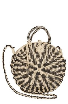 Free shipping and returns on Billabong Soak It Up Straw Crossbody Bag at Nordstrom.com.